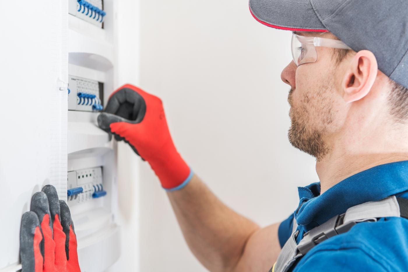 Richtige Elektroinstallation von technischen Geräten